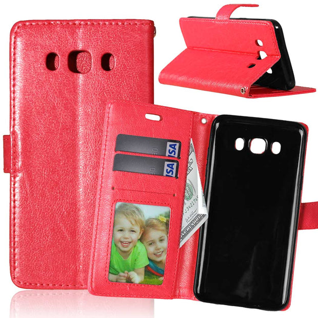Flip Case For Samsung Galaxy J7 2016 J 7 J710fn/ds SM-J710fn/ds J710FN SM-J710FN J710FQ SM-J710FQ J710 SM-J710 Leather Bag Cover