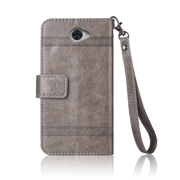 Flip Leather Case For Huawei Ascend XT2 Fundas Printed