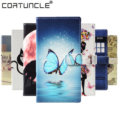 Flip Leather Case On SFor Fundas Motorola Moto E5 Plus Case For Coque Moto E5 Plus Cover 3D Painted Wallet Stand Phone Cases