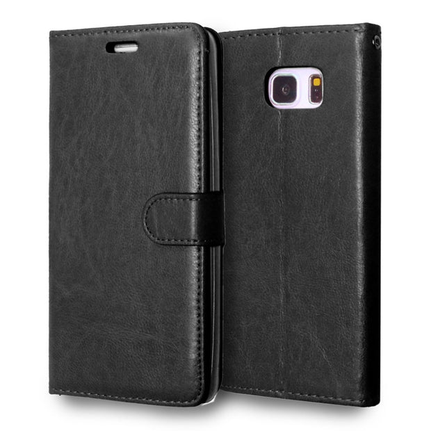 Flip Leather For Samsung Galaxy Note 5 Case Note5 SM N920 SM-N920 N9200 SM-N9200 N920v SM-N920v N920w8 SM-N920w8 Phone Cover