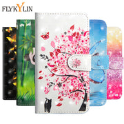 "Flip Luxury PU Leather Cover Phone Case For Xiaomi Pocophone F1 Poco F1 PocophoneF1 F1 3D Vision Painted Pattern Case 6.18"" Capa"