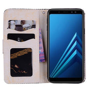 Flip SM-A730 Case For Samsung Galaxy A8plus A8 PLUS A 78 For Samsung A7 2018 SM-A730F/DS A78 A 8plus A8 Plus Phone Leather Cover