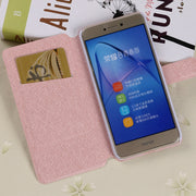Flip Silk Case For DOOGEE Shoot 1 2 Fundas Wallet Style Slots Cover Kickstand Luxury Protective Capa For Doogee Shoot1 Shoot2