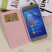 Flip Silk Case For Samsung Galaxy J3 2016 J310 2017 Fundas Wallet Style J330F Prime Pro Slots Cover Kickstand Protective Capa