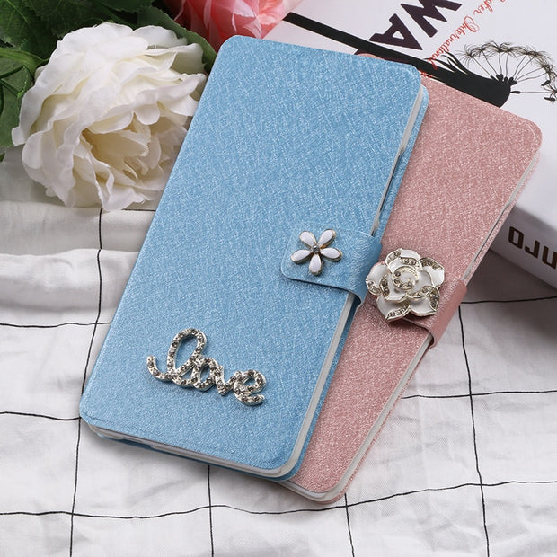 Flip Silk Case For XiaoMi Redmi Note 5 5A Pro Fundas Wallet Style Slots Cover Protective Capa For Xiomi Note5A Note5 5APro 5Pro