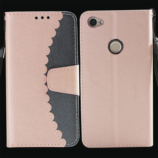 Flip For Xiaomi Redmi Note 5a Case Note5 A Mde6s Mdt6s Mde6 For Xiaomi Redmi Note 5A TD-LTE MDT6 Phone Stitching Leather Cover
