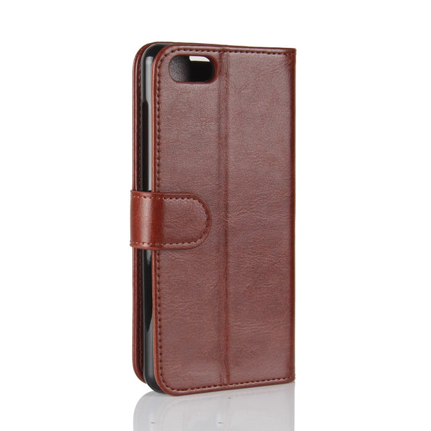 Flip Over Case Luxury Leather Purse Bracket Mobile Phone Cover Phone Case For ASUS ZENFONE 4 MAX ZC520KL Protection Capa