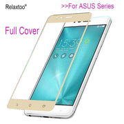 For ASUS Zenfone 3 Case Tempered Glass For Zenfone 3 Max Laser Live ZE520KL ZE552KL ZC520TL ZC553KL ZC551KL ZB501KL Cover Film