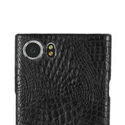 For BlackBerry Keyone Case Phone Bag Luxury 3D Crocodile PU Leather Ultra-thin Hard Back Cover For BlackBerry Keyone Cases