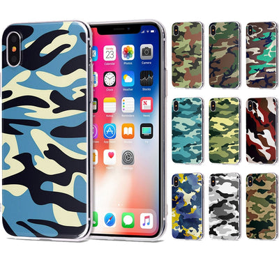 For Funda IPhone 6 Case 5 5S 5C 6S 7 8 X Plus 9 Cool Soft TPU For Cover IPhone 7 Case Original For Coque IPhone 8 Case