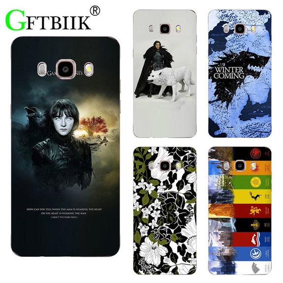 For Game Of Thrones 7 Case For Samsung Galaxy J7 2016 J710F