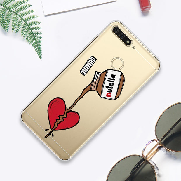For Huawei 7A Pro Case 5.7 Inch For Honor 7C Pro 5.99 Case Silicone Soft TPU Cover For Huawei Y5 Prime 2018 Honor 7A 7C Case