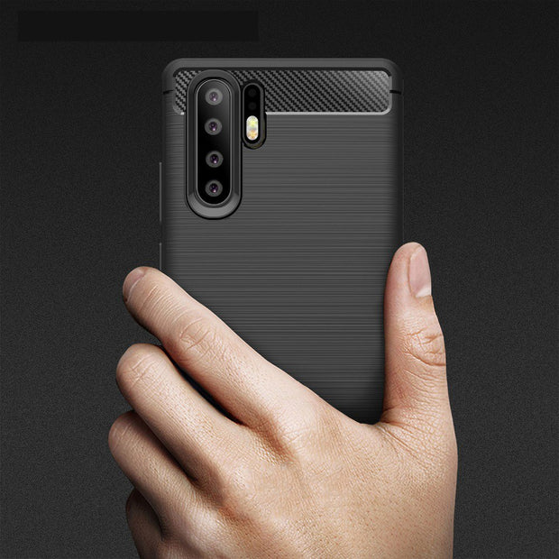 For Huawei P30 P30 Pro Case Soft Silicone Case TPU Cover For Huawei P30 Lite Carbon Fiber Case For Huawei P30 Pro Phone Case