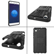 For Huawei Y5 II Case On Huawei Y5 II Cover Y6 II Antiknock Silicone Mix Hybrid Protective Shell Cover