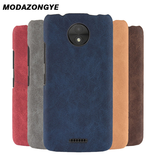 For Motorola Moto C Case Moto C 2017 Case 5.0 Back Cover PU Leather Phone Case For Motorola Moto C XT1750 XT1754 XT1755 Case