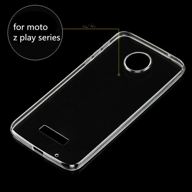 For Motorola Moto M E4 E5 G2 G3 G4 G5 G6 C Plus Case For Moto Z2 Play Style X Z Play Soft TPU Transparent Clear Phone Case Cover