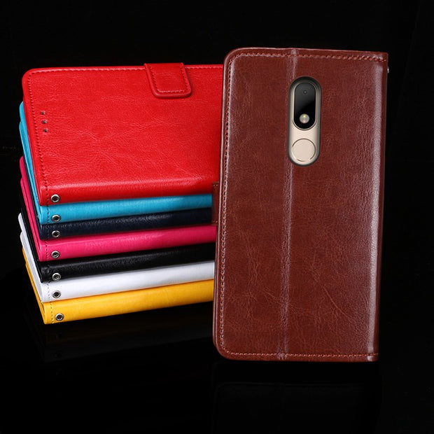 For Motorola Moto M XT1662 Case 5.5'' Flip Stand Wallet PU Leather Phone Capa Cover For Moto M Case Coque