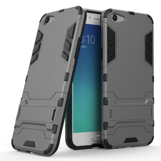 "For OPPO F3 CPH1609 3D Combo Armor Case For OPPO F3 CPH1609 5.5"" Shockproof Phone Back Cover Case Fundas Coque Etui>"