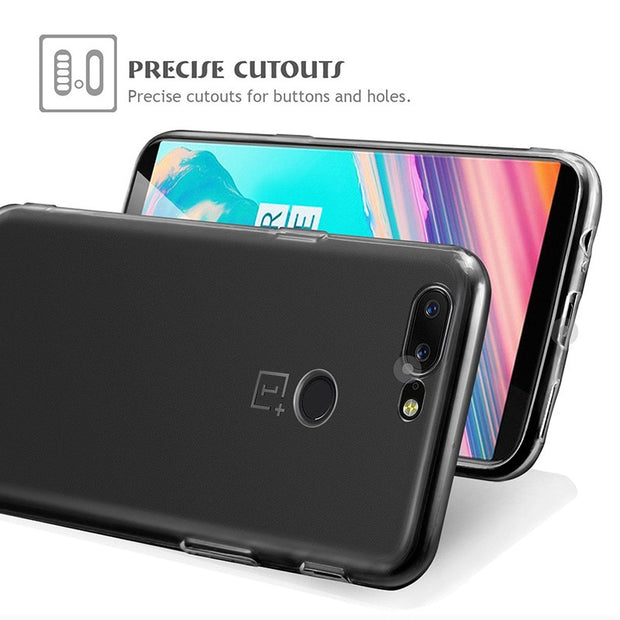 For One Plus 5T Case Oneplus 5t Cases Cover Silicone Oneplus 5t Soft TPU Transparent Clear Back Phone Cover 1 Plus 5T A5010