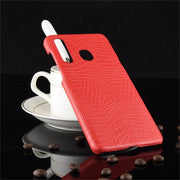 For Samsung A8S Case 6.39 Inch Luxury Crocodile Skin Hard Back Cover Protective Case For Samsung Galaxy A8S SM-G8870 Phone Cases