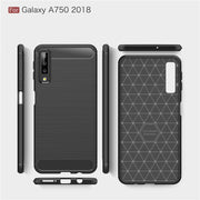 For Samsung Galaxy A7 2018 SM-A750F A750F Case Soft Silicone Case TPU Cover Carbon Fiber Case For Samsung A7 2018 Phone Case