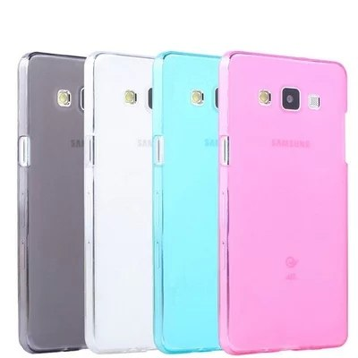 For Samsung Galaxy A7 New Cover TPU Back Case Back Soft Silicone Case For A7000 Top Quality