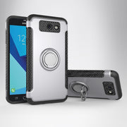 For Samsung J5 Prime Case Cover Hard Silicone Combo Magnetic Ring Armor Cover Case For Samsung Galaxy J5 Prime Case J5prime Capa