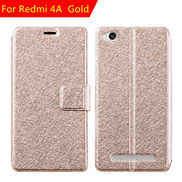 For Xiaomi Redmi 4A Case On Xiaomi Redmi 4A Cover Xiomi Redmi 4A Pu Leather Flip Cover Luxury Original Cover