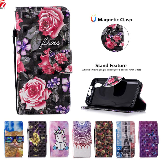 For Xiaomi Redmi 6A Case PU Leather Cover For Xiaomi Redmi 6 A Flip Case Coque Redmi6a Magnetic Wallet Phone Cases Stand Fundas