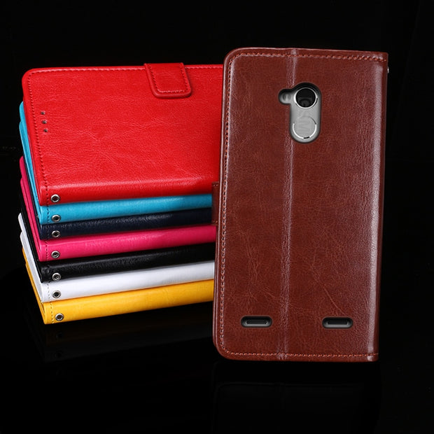 release date 033d7 5cfae For ZTE Blade V7 Lite Case Stand Flip Leather Wallet Phone Capa Cover For  ZTE Blade V7 Lite / A2 Case Fundas Capa
