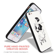 For IPhone 6P 6SP 7 8 7P 8P X Cover Case ANSHOW Sex Pretty Girls High Quality TPU Case