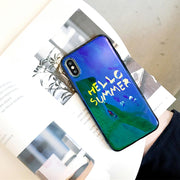 For Iphone 6 6S 7 8 Silicone Letter Phone Case For IPhone 6 6S 7 8 Plus Funda For IPhone X XR XS MAX Drop-proof Back Covers