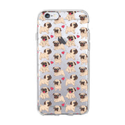 Funny Cute Cat Dog Animal Phone Case For Huawei P8 P10 Plus P8 Lite P9 Soft TPU Transparent Cute Pattern Cover For Honor 10 Lite