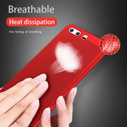 GerTong Heat Dissipation PC Cover Case For Huawei P20 Pro Mate 10 P10 Lite For Honor 8 9 P8 P9 Lite 2017 Luxury Matte Shell
