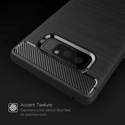 HOMEBARL Shell For Samsung Galaxy Note8 Carbon Fiber Pattern Back Cover All-Inclusive Anti-Drop Tpu Fashion Soft Phone Case 1C4