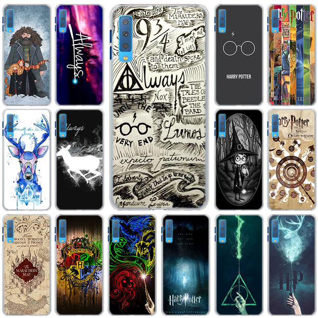 Harry Potter Cases Cover For Samsung Galaxy A6 A6+ A8 A8+ 2018 A3 A5 A7 A9 2018 A8s A6s Hard Back Phone Case