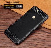 Honor 7A Cases Honor 7A 2GB 32GB PU Leather Texture Soft TPU Case For Huawei Honor 7A Pro 5.7inch For Huawei Honor 7A DUA-L22