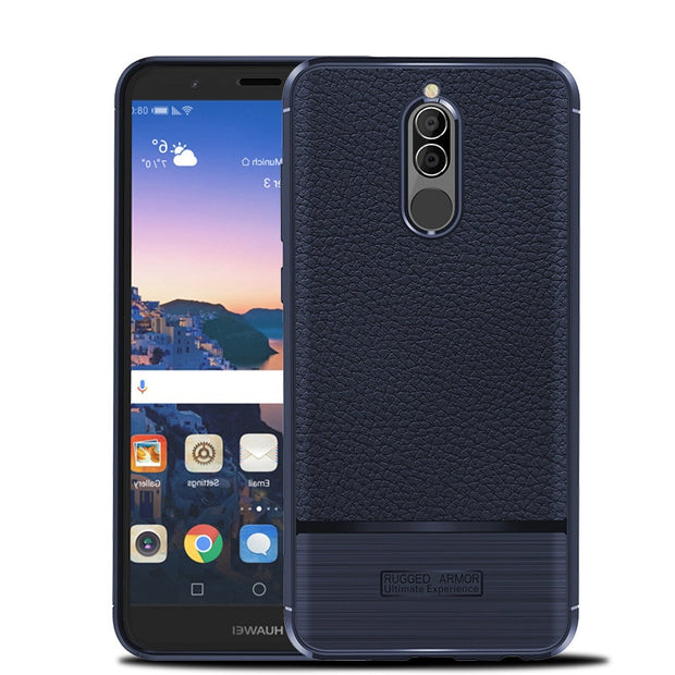 Huawei Mate 10 Lite Case Huawei Nova 2i Cover Shockproof Luxury Leather TPU Case For Huawei Mate 10 Lite Case Honor 9i/MaiMang6