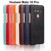 Huawei Mate 10 Mate 10 Lite Nova 2i Case Phone Bag 3D Crocodile PU Leather Ultra-thin Hard Back Cover For Huawei Mate 10 Pro
