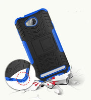 Huawei Y3 II Case On For Huawei Y3 II Cover Y3 2 Antiknock Silicone Mix Hybrid Protective Shell Cover Fundas Coque