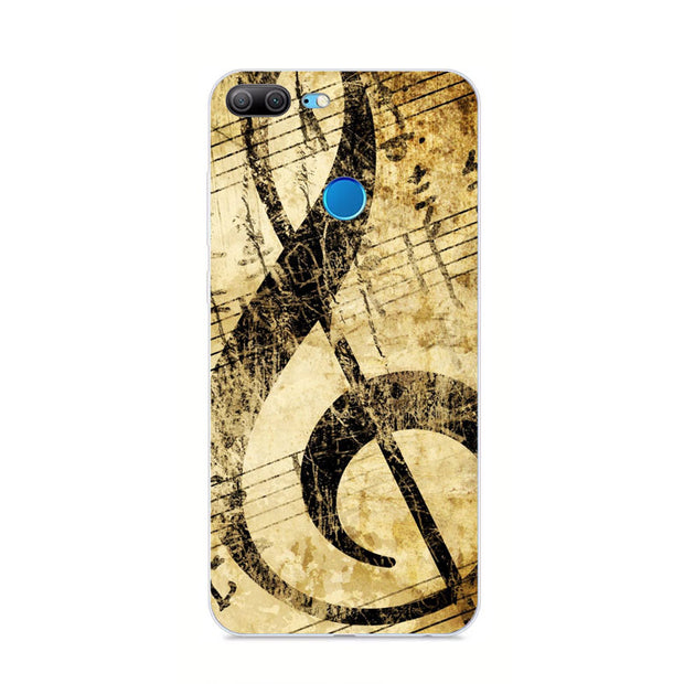 Huawei Honor 9 Lite Case,Silicon Panda Painting Soft TPU Back Cover For Huawei Honor 9 Lite Phone Protect Bags Shell