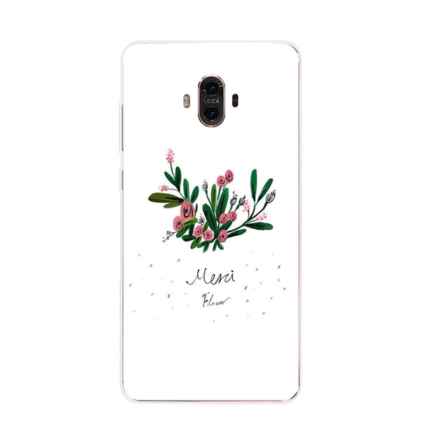 Huawei Mate 10 Case,Silicon Bubble Cat Painting Soft TPU Back Cover For Huawei Mate 10 Pro Phone Fitted Case Shell