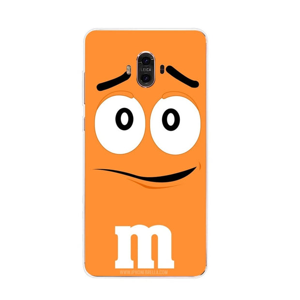 Huawei Mate 10 Case,Silicon Letter Expression Painting Soft TPU Back Cover For Huawei Mate 10 Pro Phone Protect Case Shell