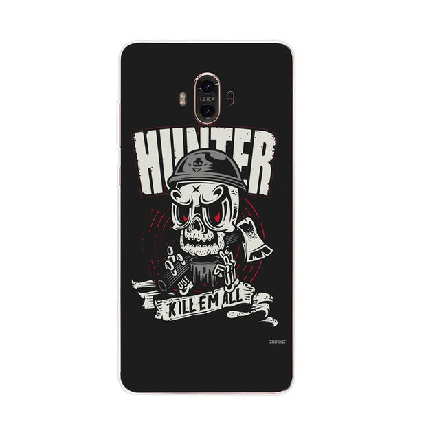 Huawei Mate 10 Case,Silicon Phanton Cartoon Painting Soft TPU Back Cover For Huawei Mate 10 Pro Phone Fitted Case Shell
