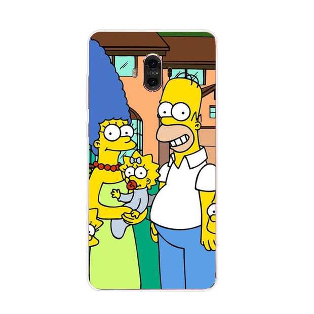Huawei Mate 10 Case,Silicon Popular Cartoon Painting Soft TPU Back Cover For Huawei Mate 10 Pro Phone Fitted Case Shell