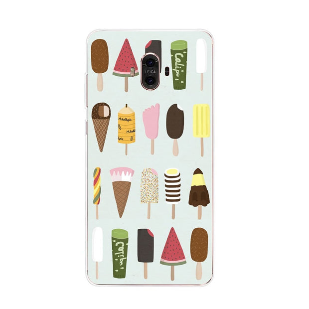 Huawei Mate 10 Case,Silicon Rich Food Painting Soft TPU Back Cover For Huawei Mate 10 Pro Phone Fitted Case Shell