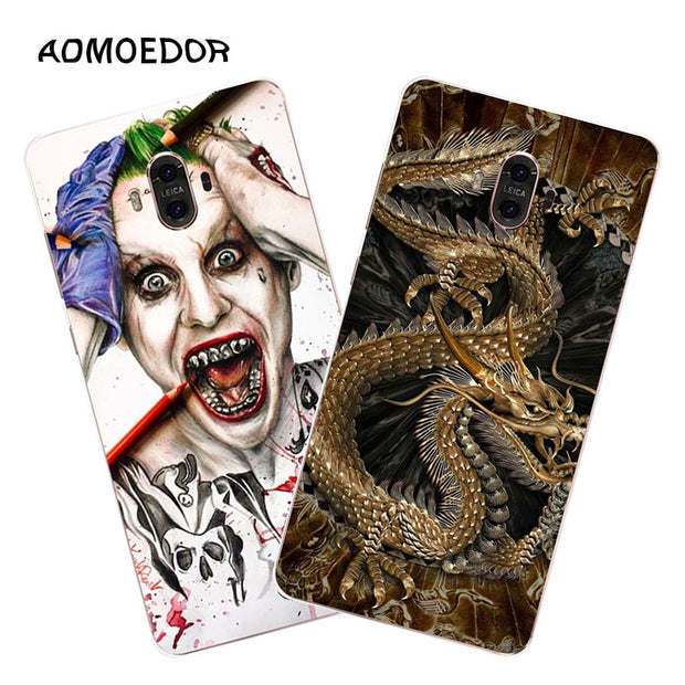 Huawei Mate 10 Case,Silicon Panda Painting Soft TPU Back Cover For Huawei Mate 10 Pro Phone Fitted Case Shell