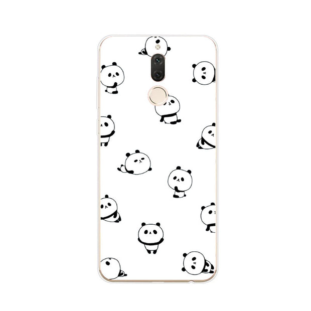 Huawei Nova 2i Case,Silicon Cartoon Painting Soft TPU Back Cover For Huawei Nova 2I Phone Fitted Case Shell