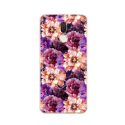 Huawei Nova 2i Case,Silicon Flowers Plant Painting Soft TPU Back Cover For Huawei Nova 2I Phone Fitted Case Shell