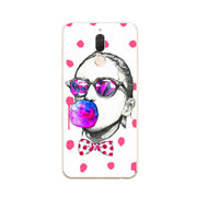 Huawei Nova 2i Case,Silicon Look Cat Painting Soft TPU Back Cover For Huawei Nova 2I Phone Fitted Case Shell